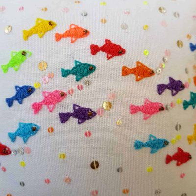 Fish Scatter Cushion