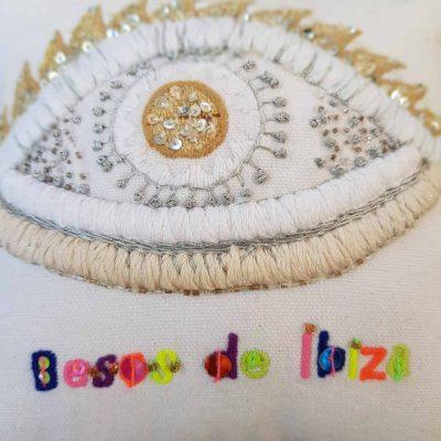 Besos de Ibiza Eye Scatter Cushion