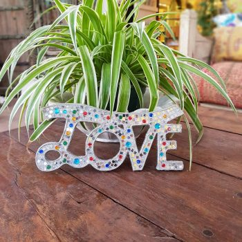 Glitter Signs & Wall Decor